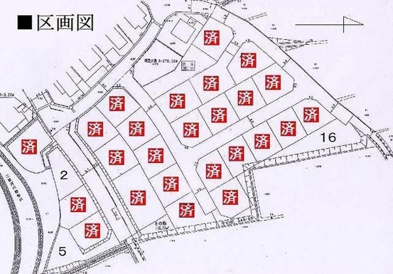 第2フィールドタウン区画図